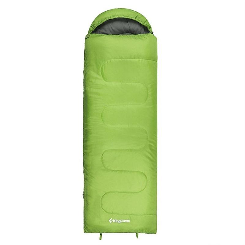 Spací pytel KING CAMP Oasis 250 zelený - levý zip