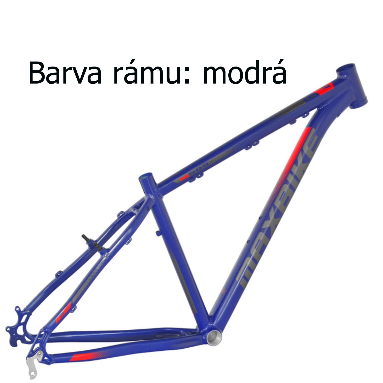 """Horské kolo MAXBIKE Nimba 26"""" modré - vel. rámu 17"""""""