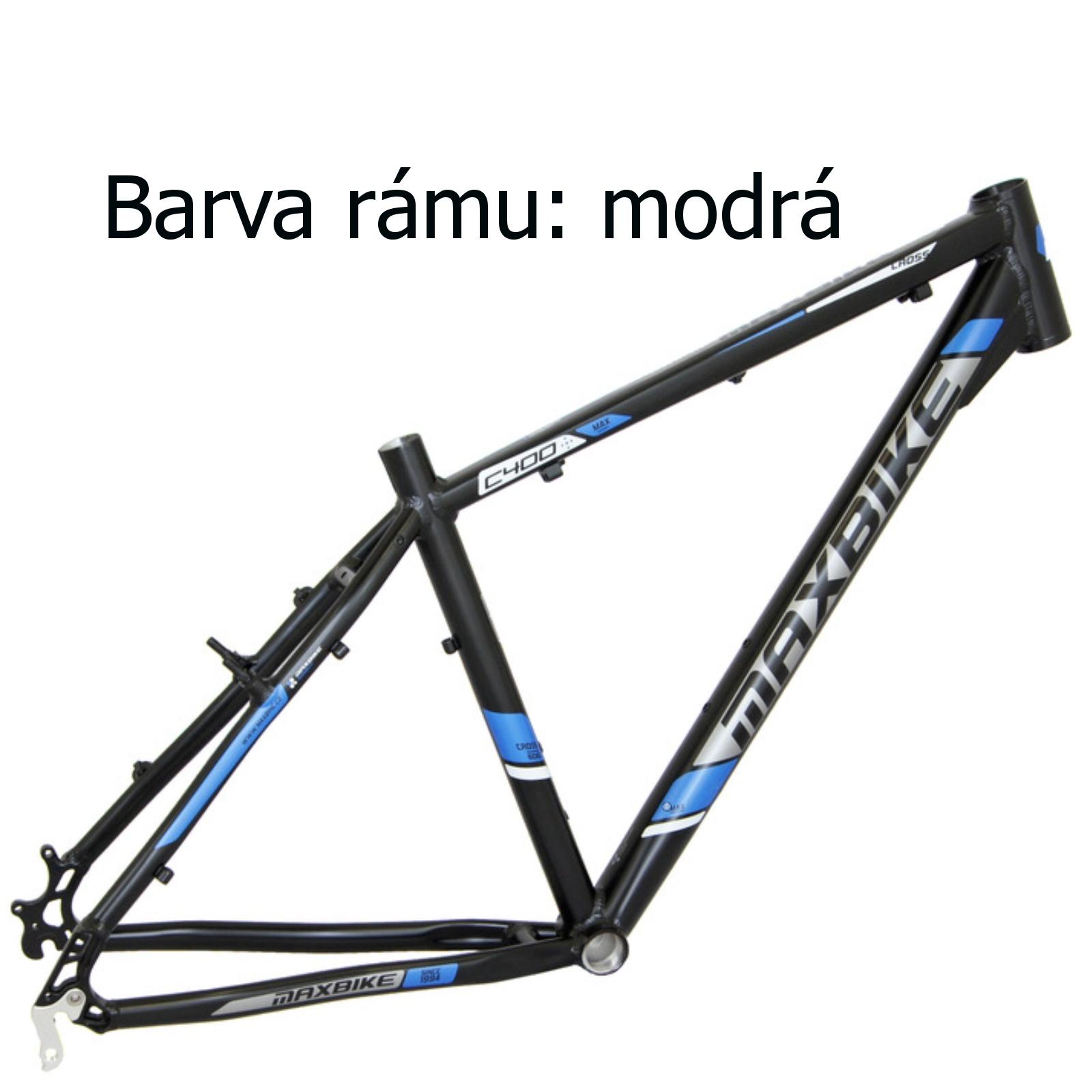 "Krosové kolo MAXBIKE Cavalla modré - vel. rámu 16"""