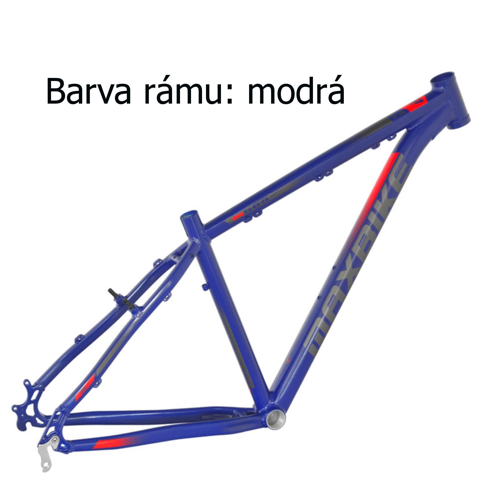 """Horské kolo MAXBIKE Apo 29 modré - vel. rámu 21"""""""