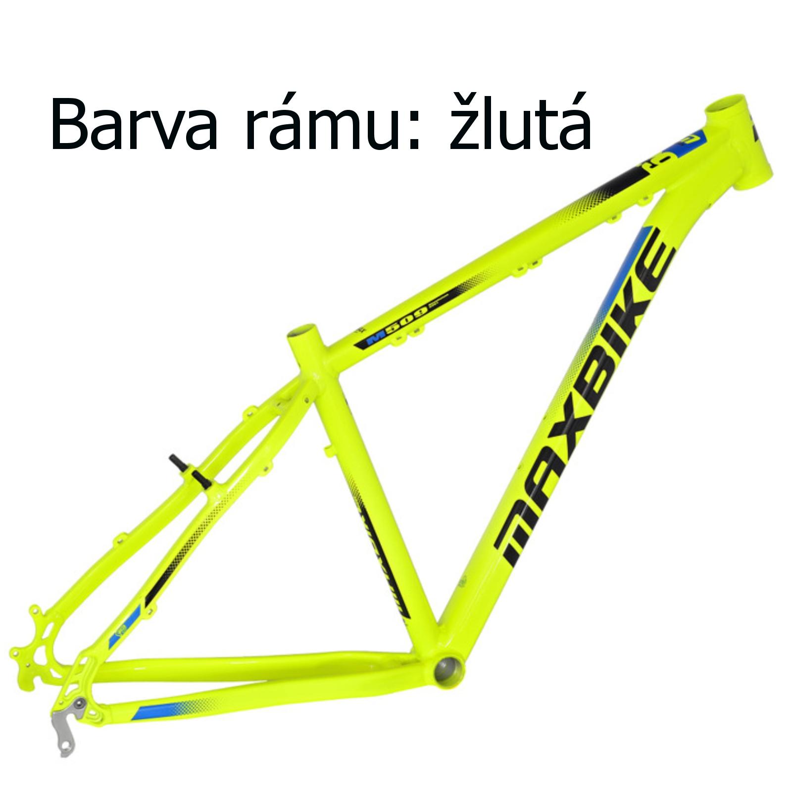 """Horské kolo MAXBIKE Apo 29 žluté - vel. rámu 21"""""""