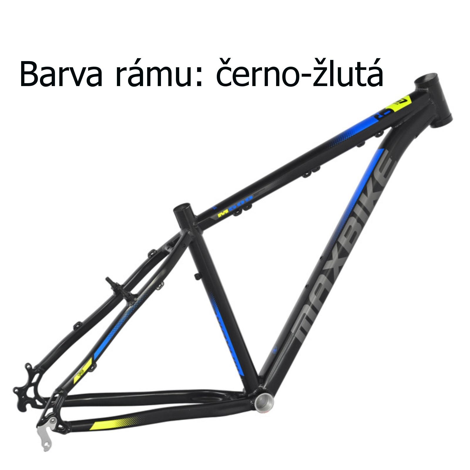 """Horské kolo MAXBIKE Toba 27.5 černo-žluté - vel. rámu 17"""""""