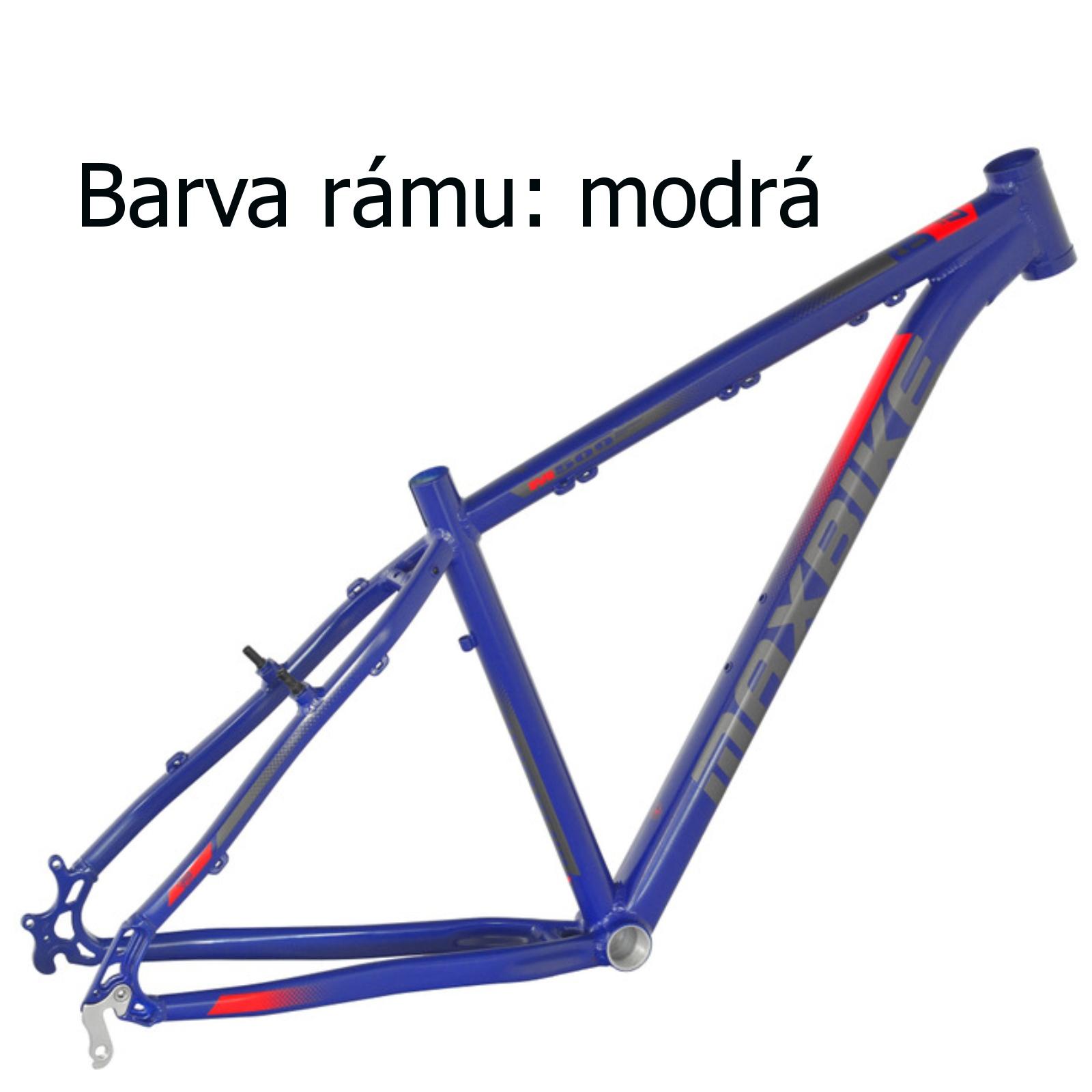 """Horské kolo MAXBIKE Toba 27.5 modré - vel. rámu 15"""""""