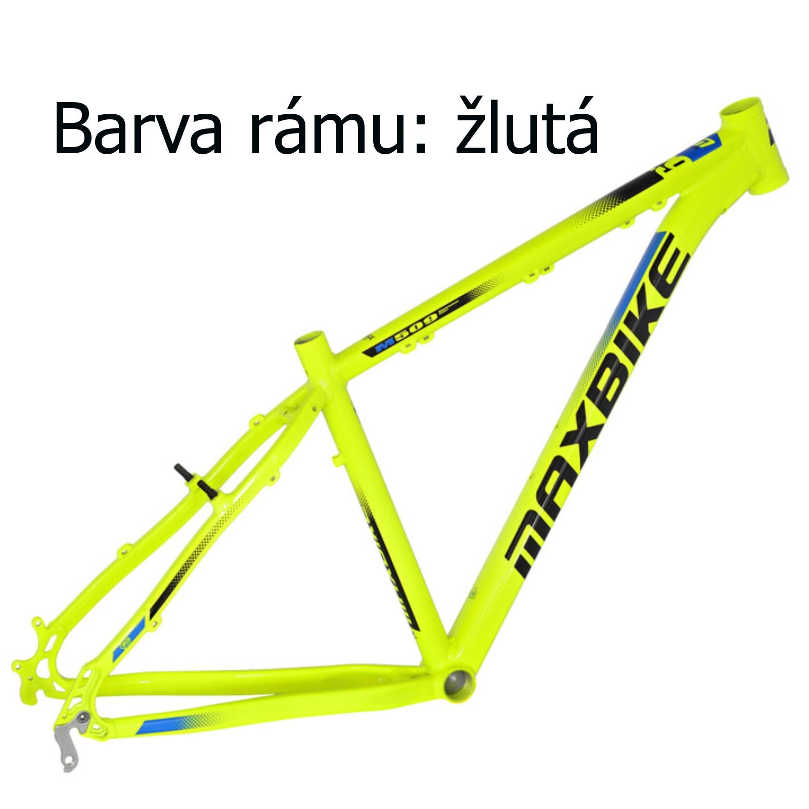 """Horské kolo MAXBIKE Toba 27.5 žluté - vel. rámu 17"""""""