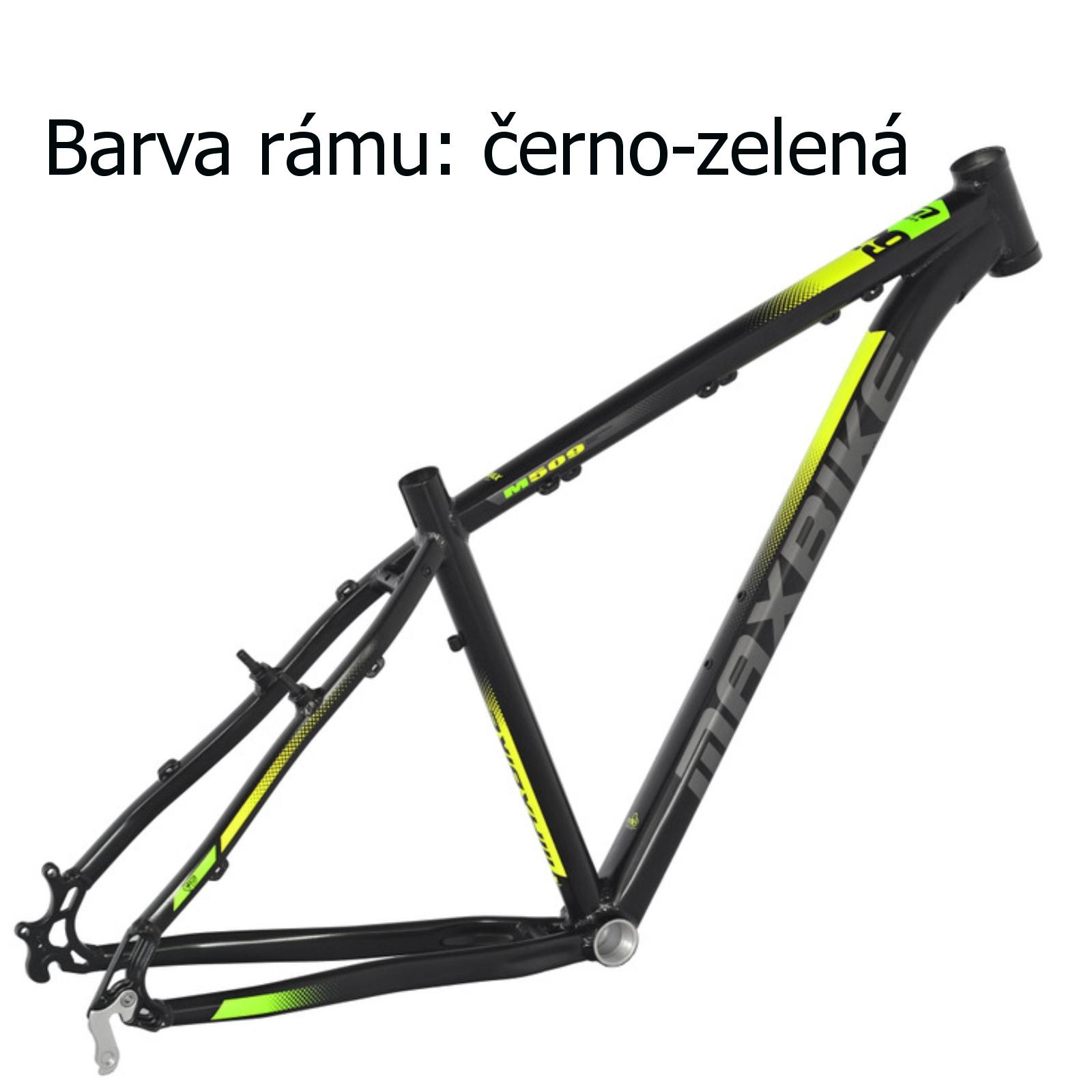 """Horské kolo MAXBIKE Taupo 29 černo-zelené vel. rámu 17"""""""