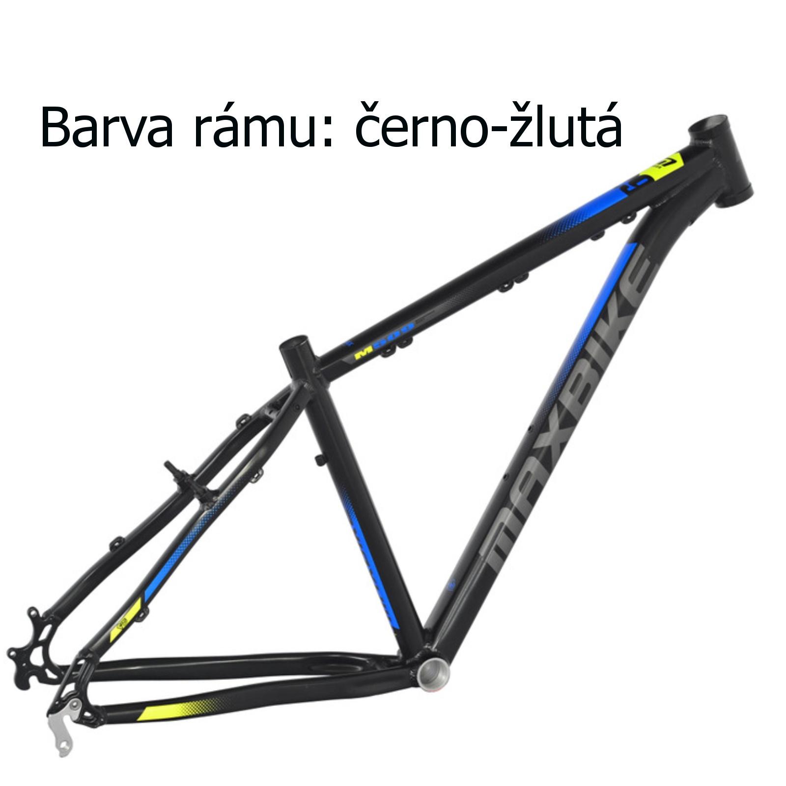 """Horské kolo MAXBIKE Taupo 29 černo-žluté vel. rámu 19"""""""