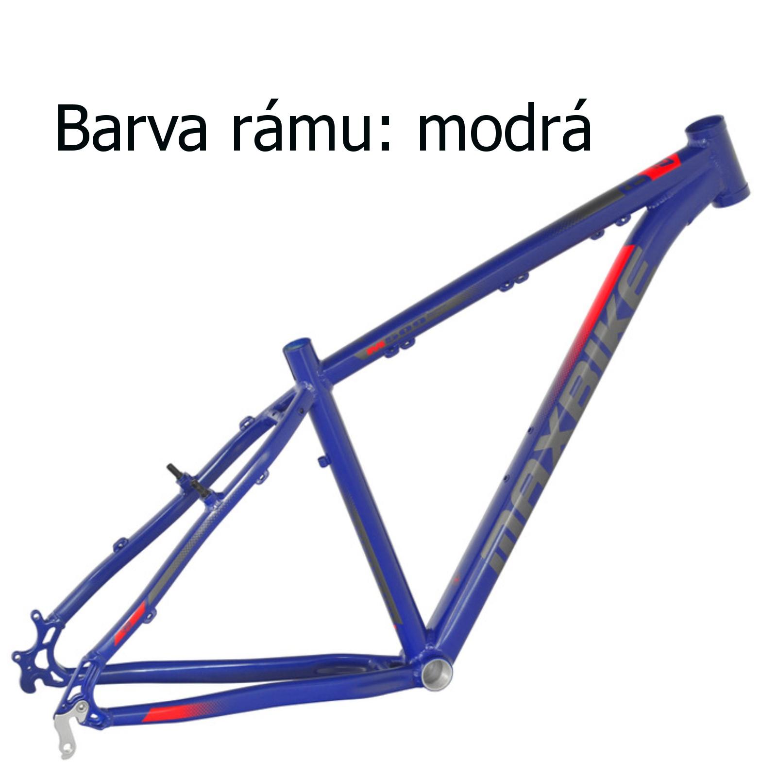 """Horské kolo MAXBIKE Taupo 29 modré vel. rámu 19"""""""