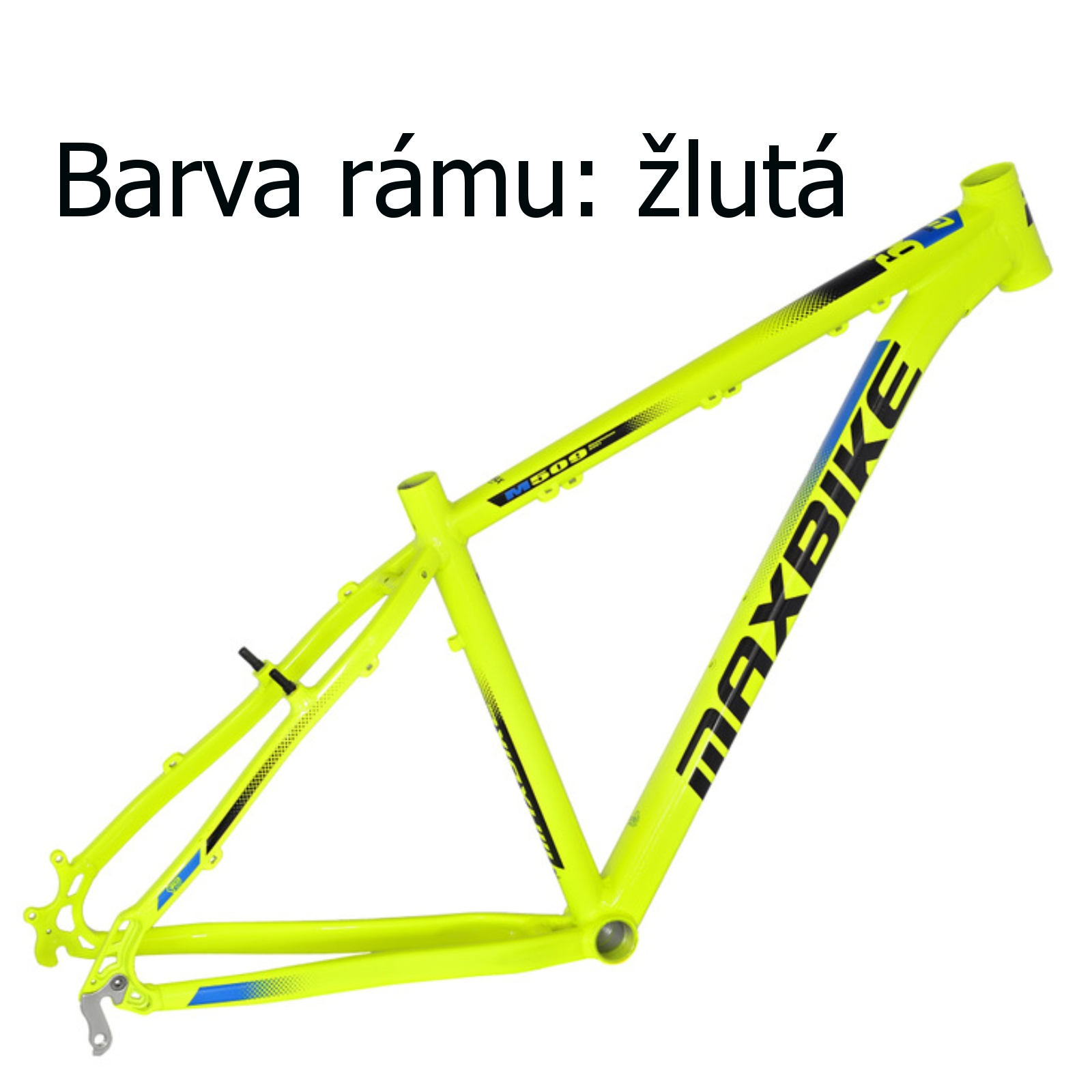 """Horské kolo MAXBIKE Taupo 29 žluté vel. rámu 15"""""""