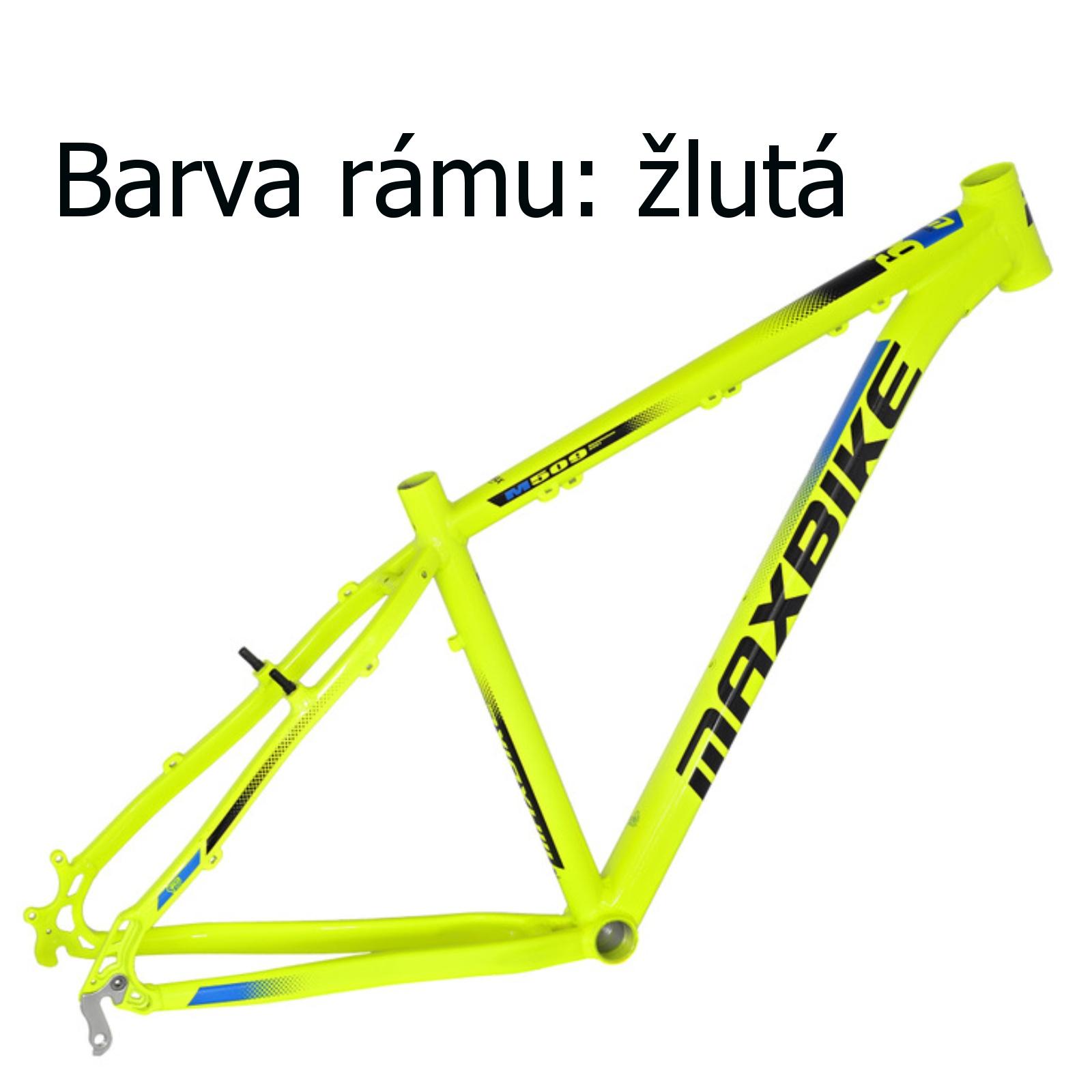 """Horské kolo MAXBIKE Taupo 29 žluté vel. rámu 19"""""""