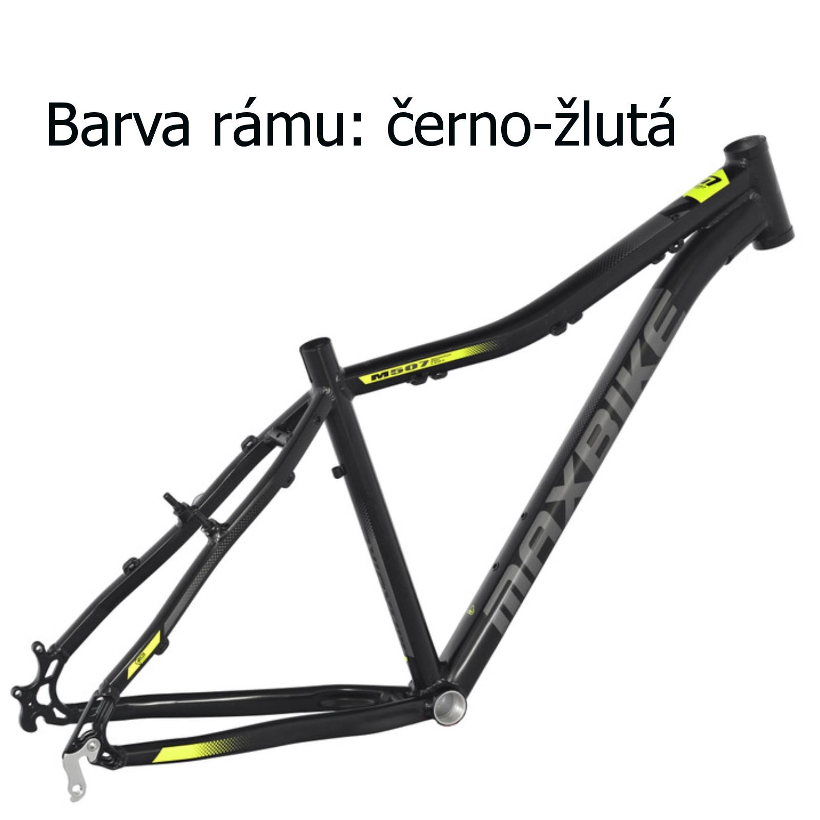 """Horské kolo MAXBIKE Apo 26 dámské černo-žluté - vel. rámu 15"""""""