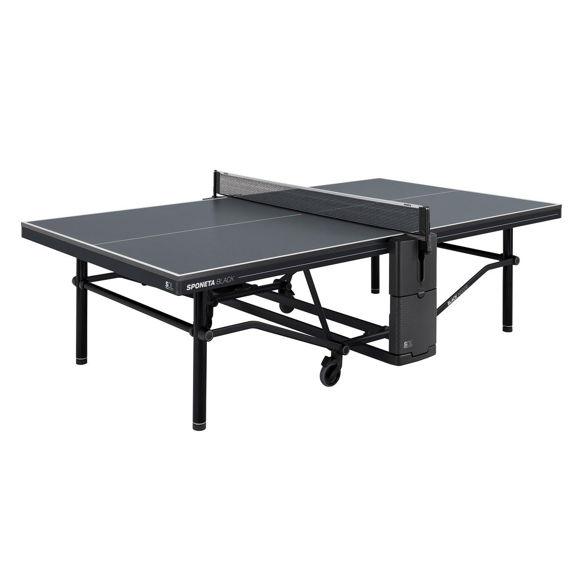 Stůl na stolní tenis SPONETA Design Line - Black Outdoor - venkovní