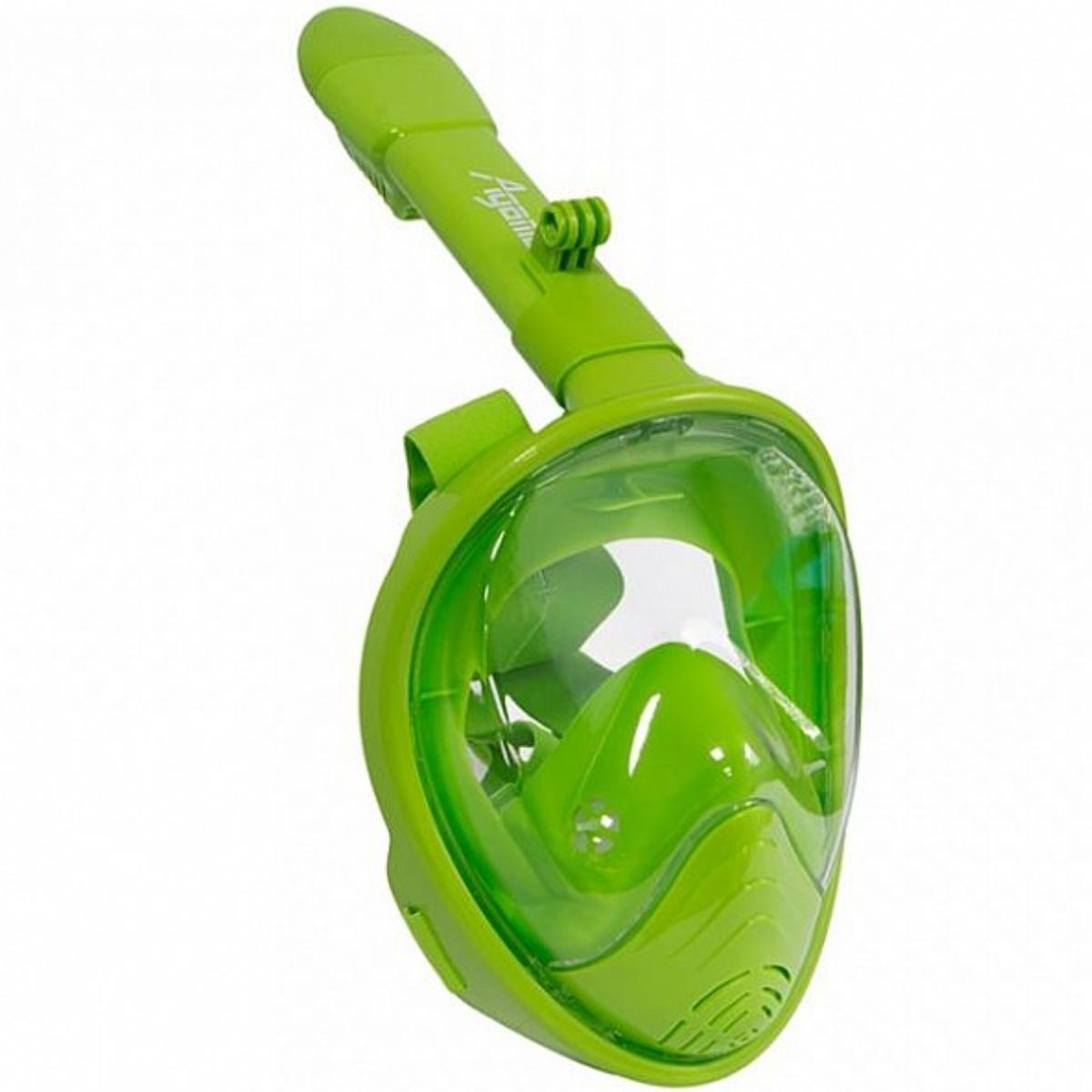 Celoobličejová maska AGAMA Dory zelená