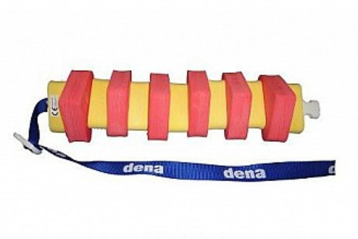 Plavecký pás ARONET Dena 13 dílů - červeno-žlutý
