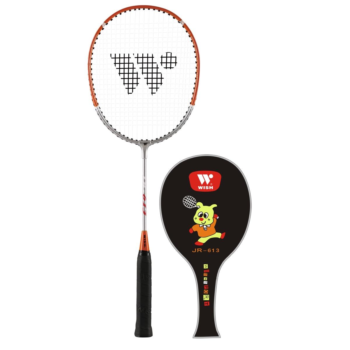 Badmintonová raketa WISH Alumtec Junior 613