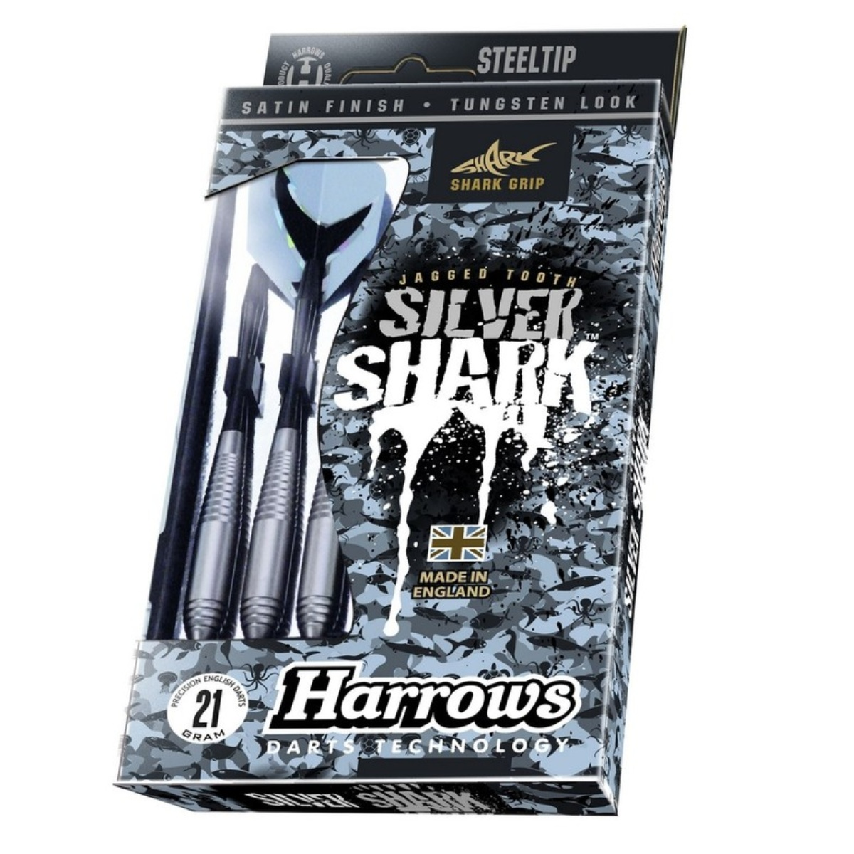 Harrows Steel Silver Shark 21gR