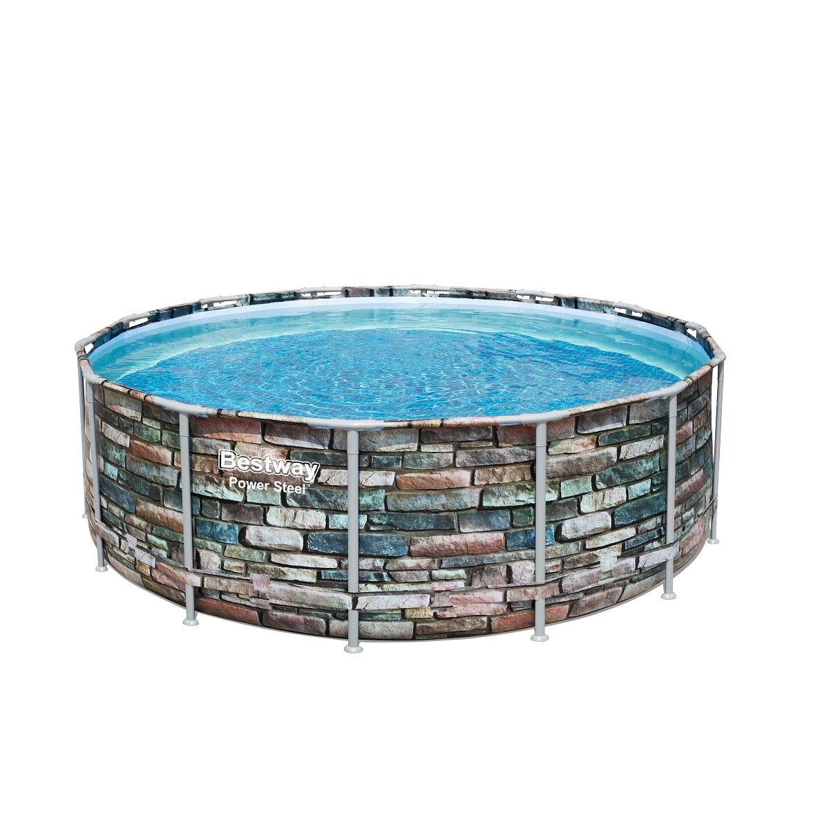 Bazén BESTWAY Power Steel 427 x 122 cm set s filtrací