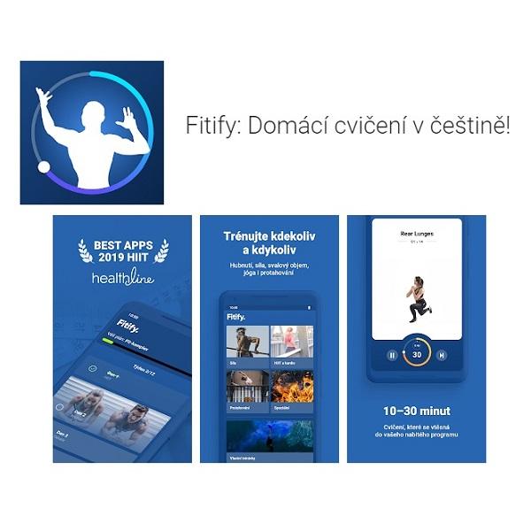 Aplikace Fitify na 8 týdnů