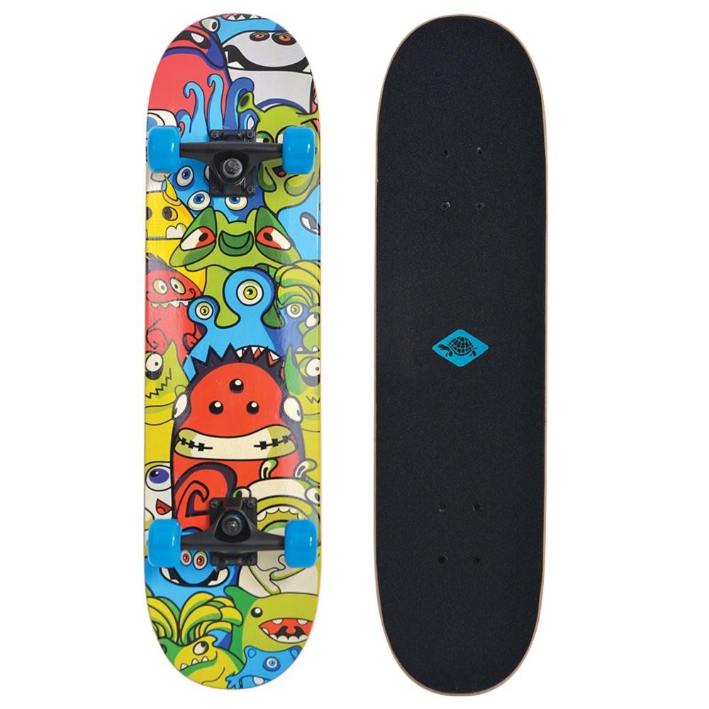 """Skateboard SCHILDKROT Slider 31"""" - Monsters"""