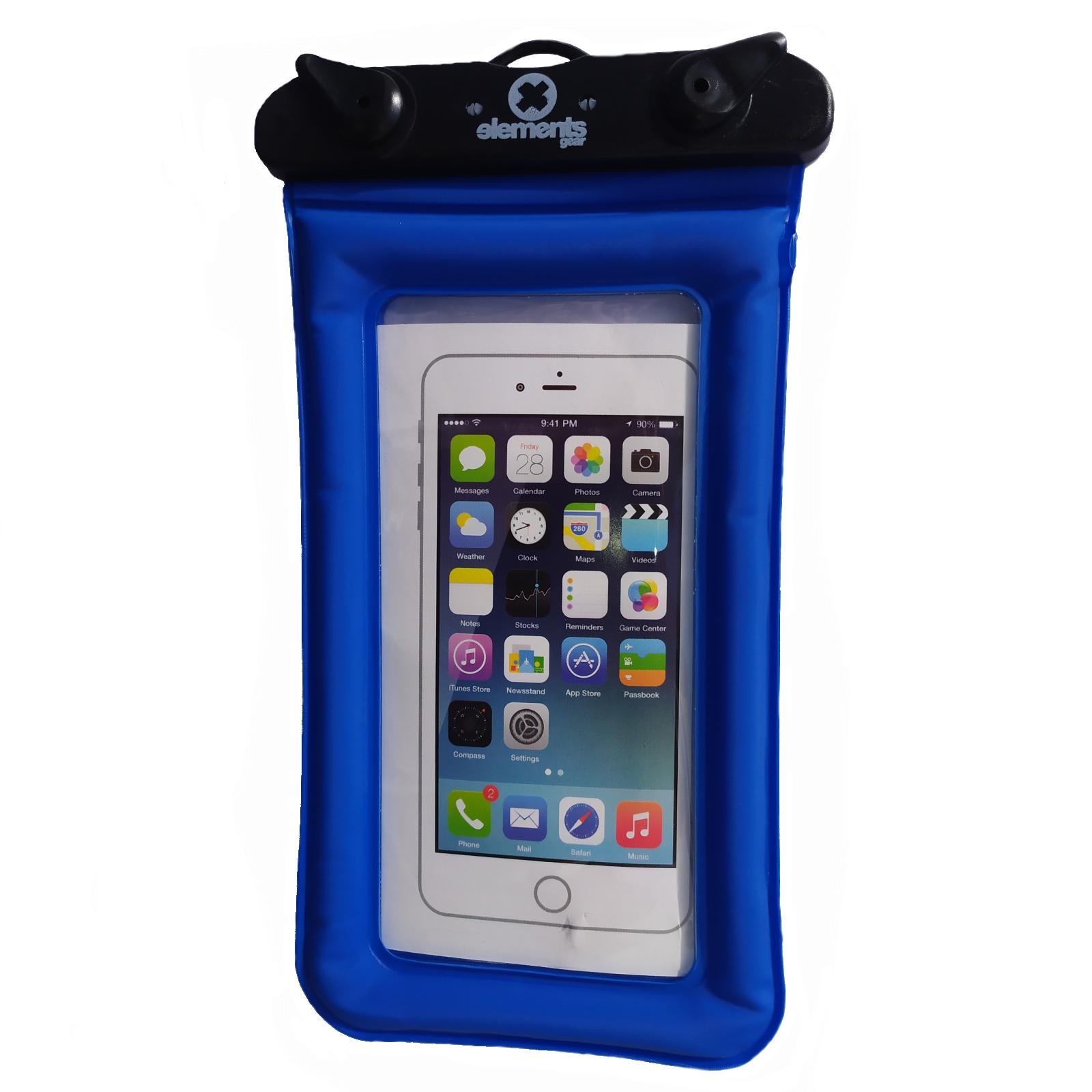 Vodotěsný obal na mobil ELEMENTS GEAR - modrý