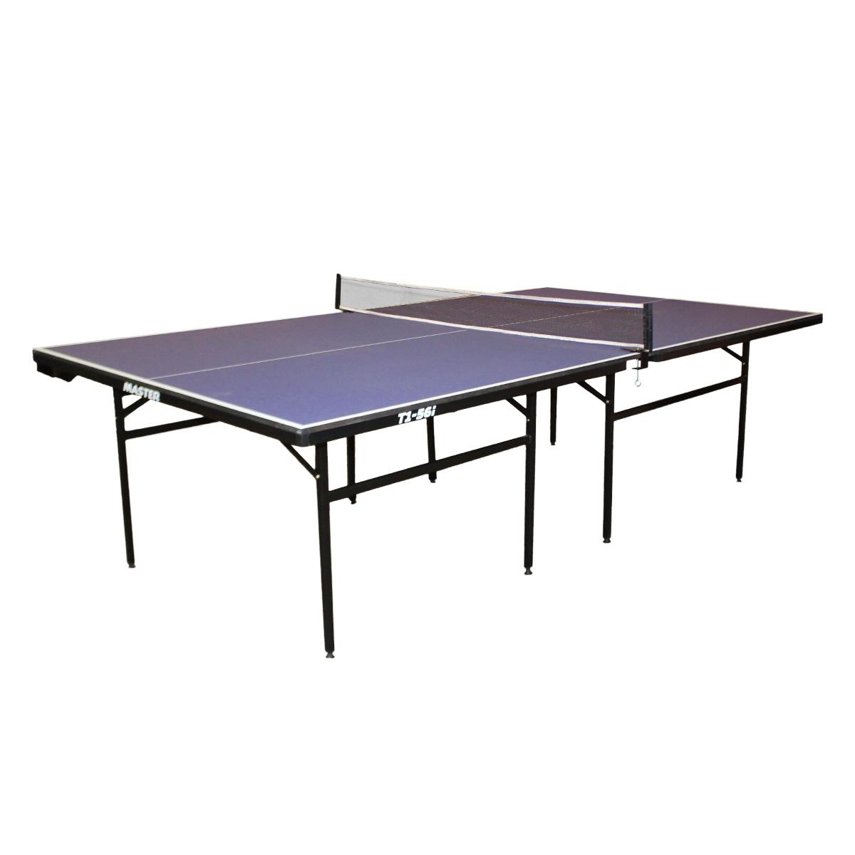 Stůl na stolní tenis MASTER T1-56i - modrý