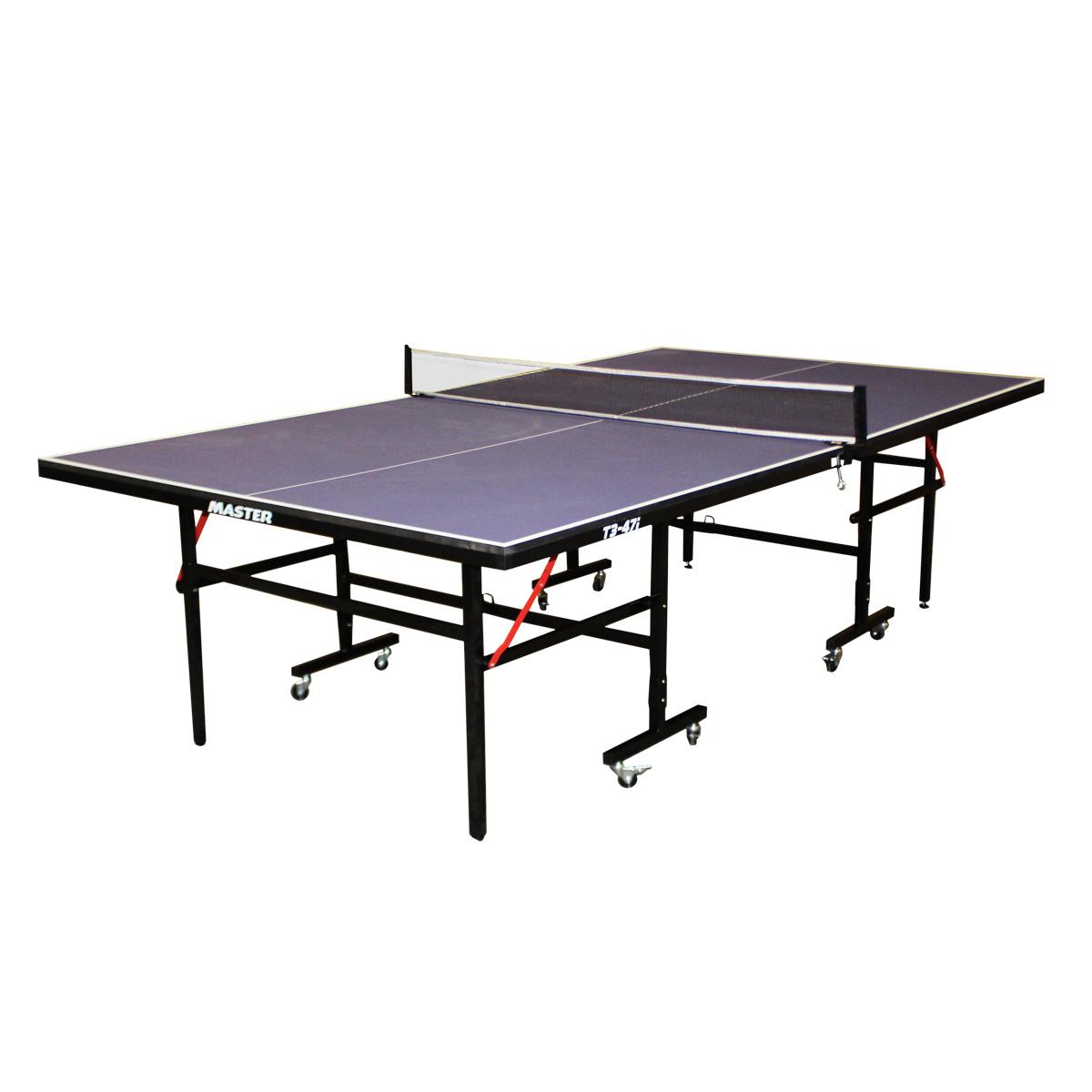 Stůl na stolní tenis MASTER T3-47i - modrý