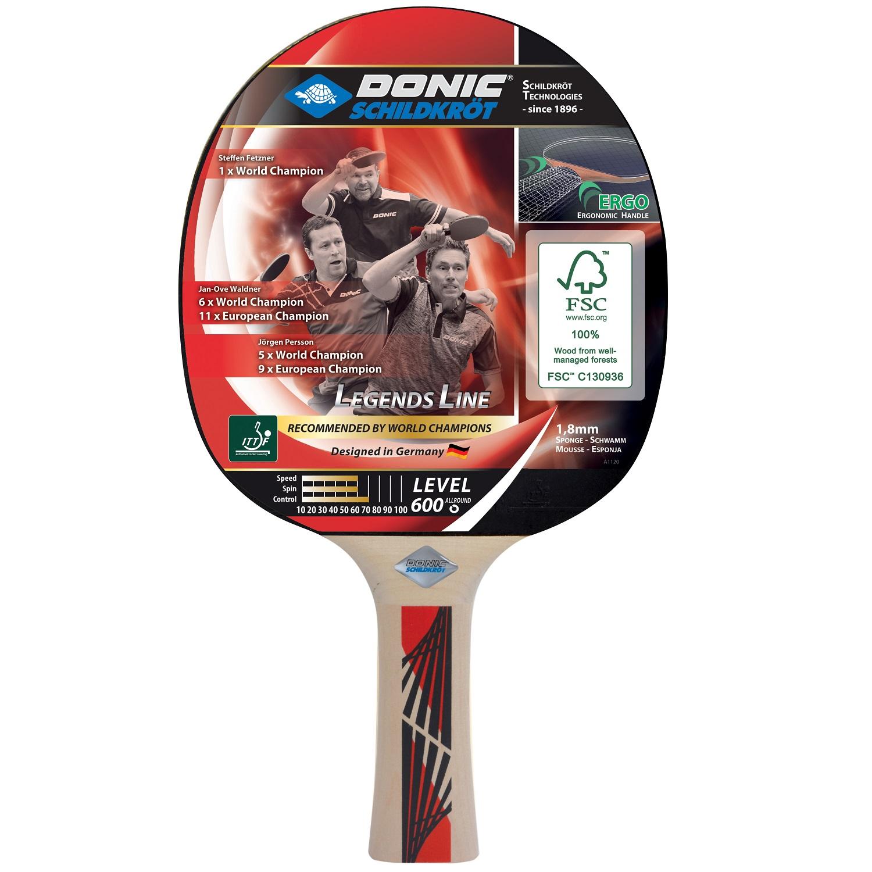 Pálka na stolní tenis DONIC Legends 600 FSC