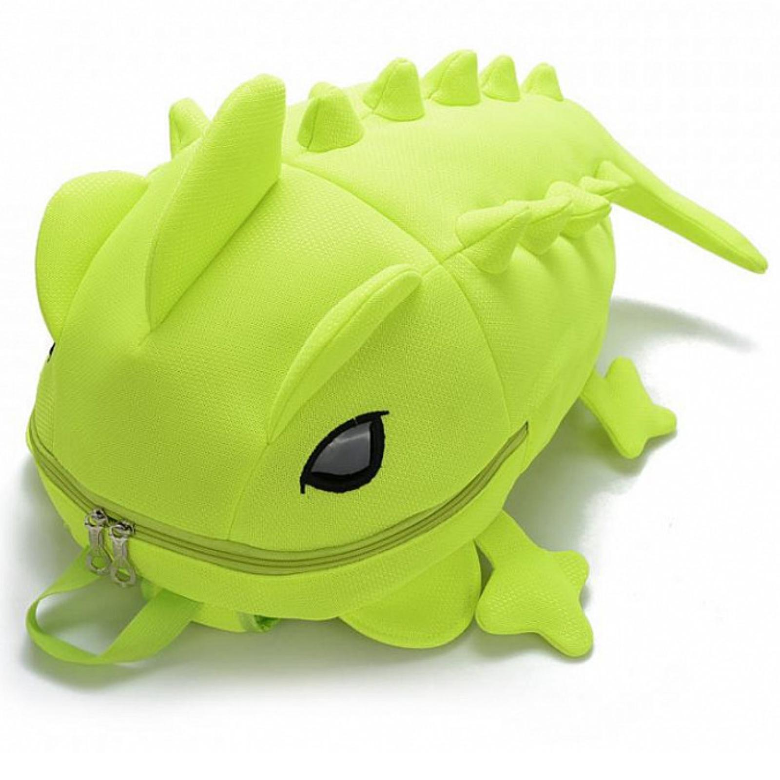 Dětský batoh AGAMA Dino - limetkový