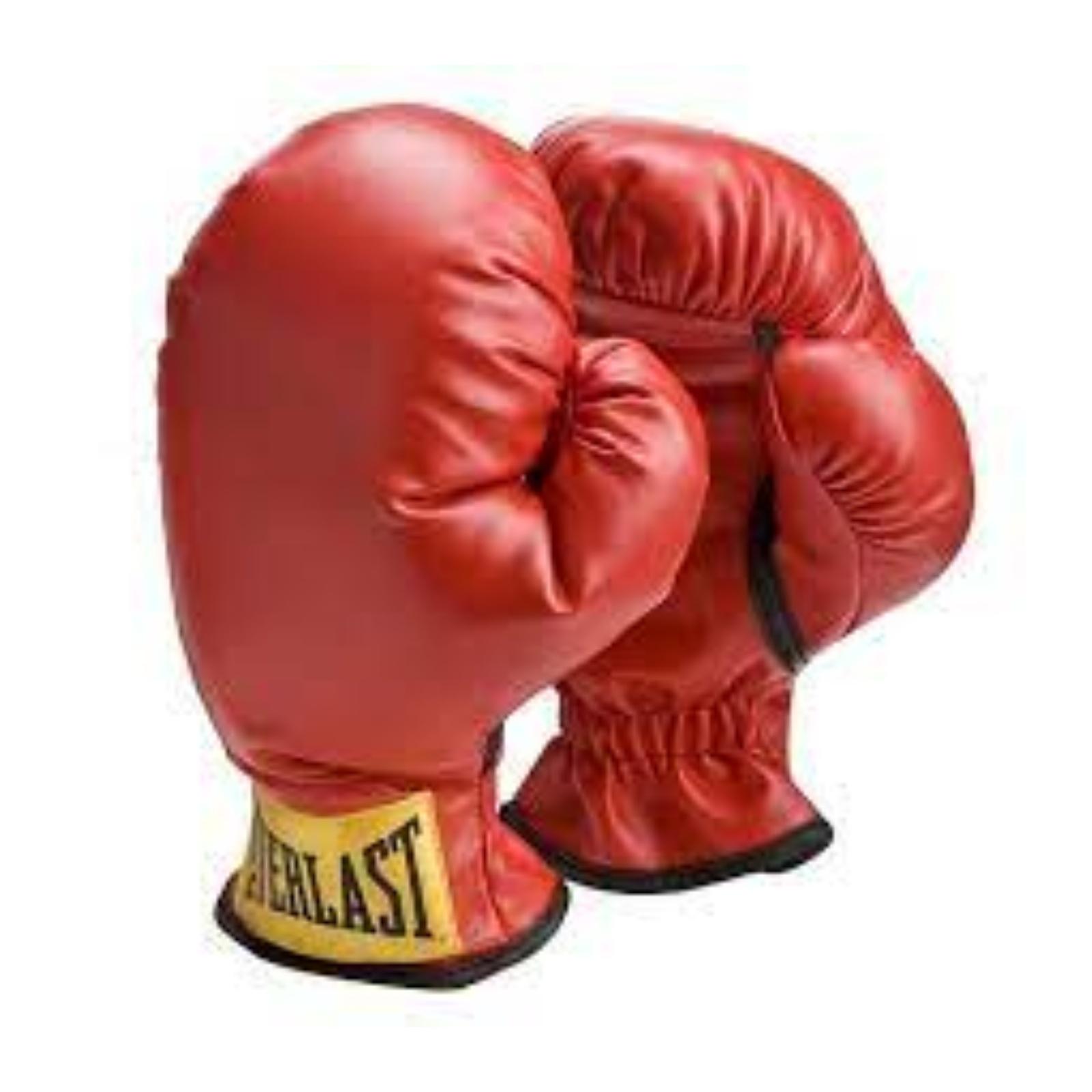 Dětské boxerské rukavice EVERLAST červené