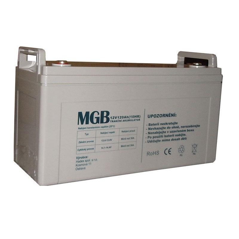 Trakční akumulátor MGB VRLA AGM 12V-120Ah