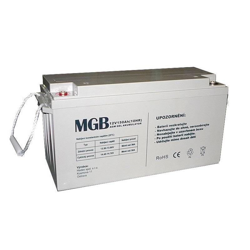 Levně Trakční akumulátor MGB VRLA AGM 12V-150Ah
