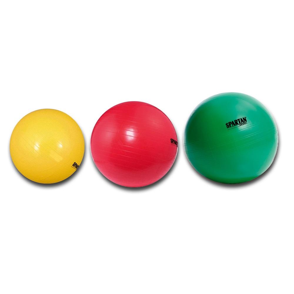 Gymnastický míč SPARTAN průměr 75 cm - červený