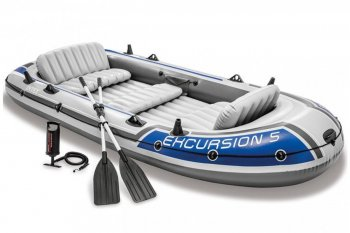 Nafukovací člun INTEX Excursion 5 Set