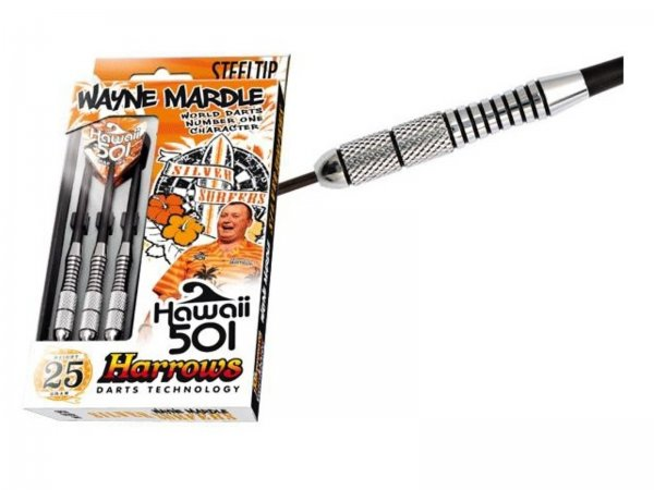 Šipky HARROWS Mardle Silver Steel 23g