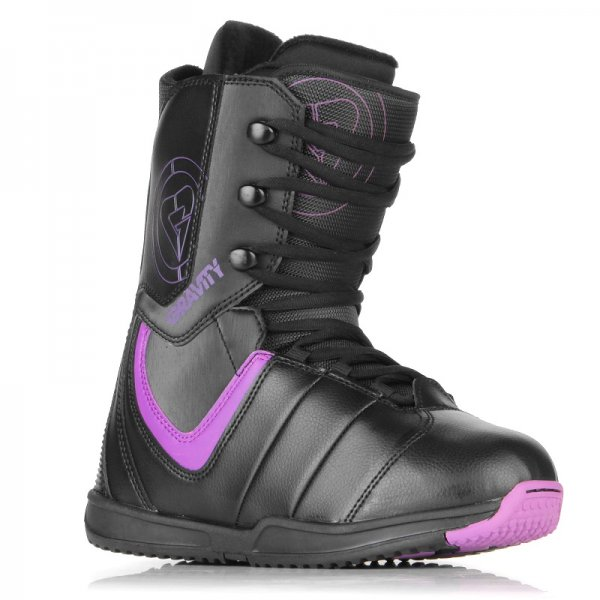 Boty na snowboard GRAVITY Thunder black/purple