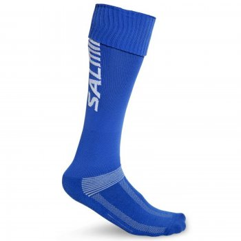 Anatomické štulpny SALMING Coolfeel Socks Long Royal - modré