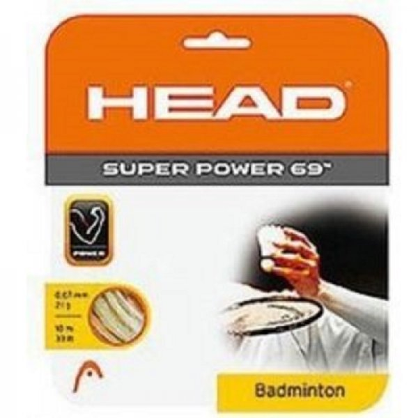 Badmintonový výplet HEAD Super Power 10 m 0,69