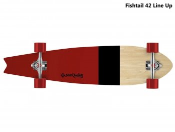 Longboard STREET SURFING Fishtail 42