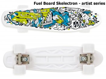 Skateboard STREET SURFING Fuel Board Skelectron