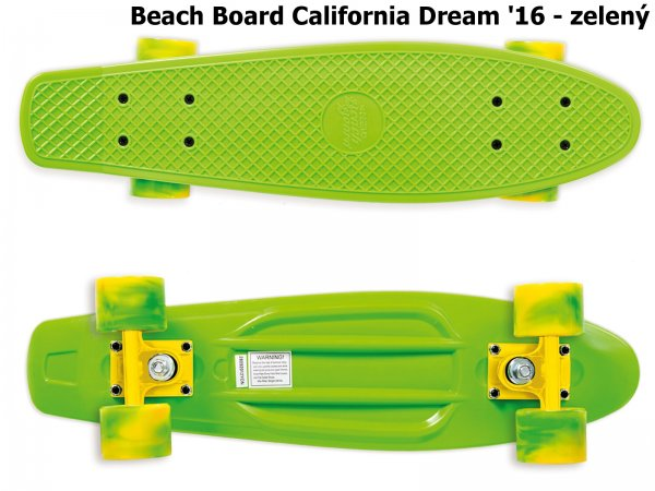 Skateboard STREET SURFING Beach Board 2016