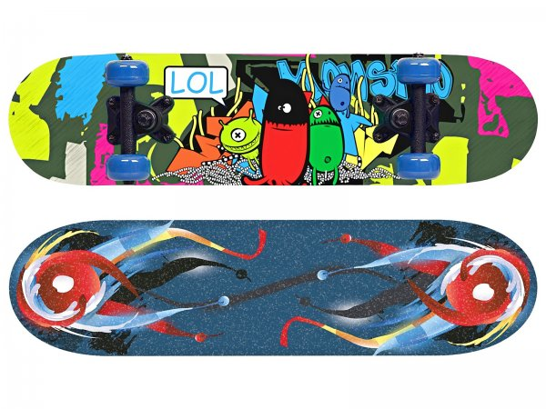 Skateboard SPOKEY Monstro