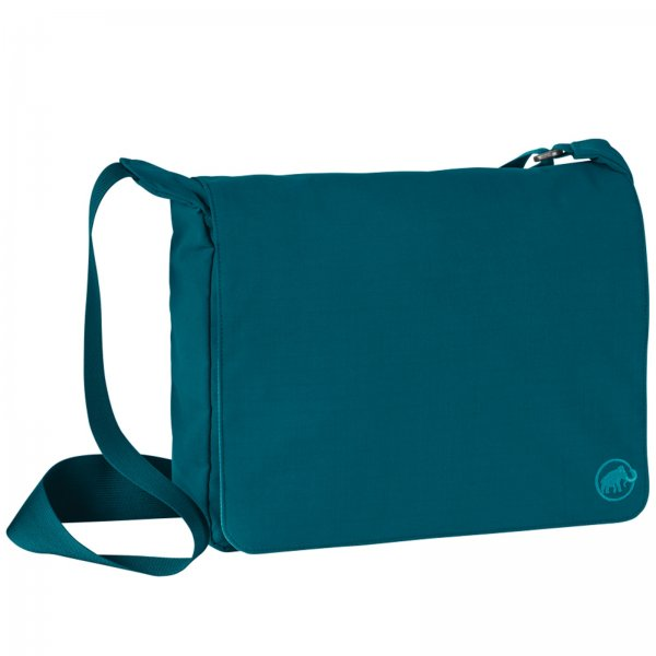 Taška MAMMUT Shoulder Bag Square 8 - tm. zelená