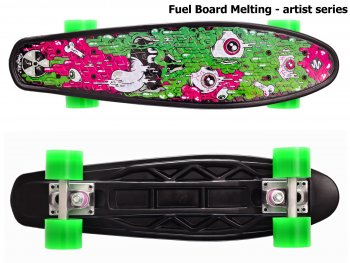 Skateboard STREET SURFING Fuel Board Melting