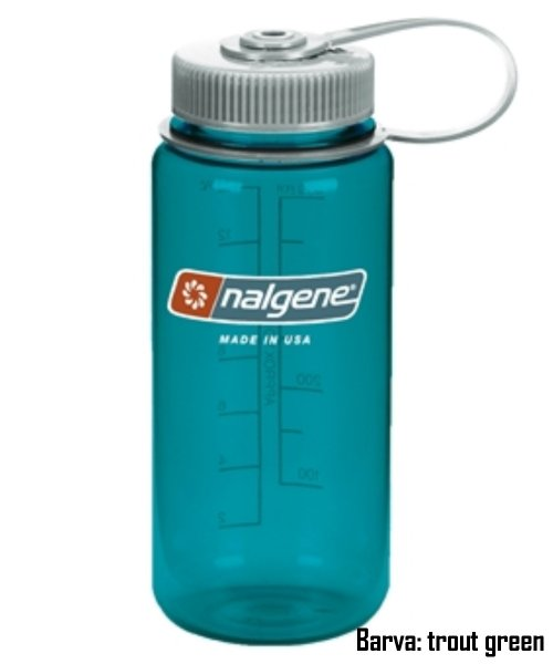 Láhev NALGENE Wide Mouth 0,5 l - trout green