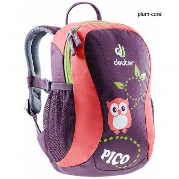 Dětský batoh DEUTER Pico 5 l - plum-coral 2d780c7e50