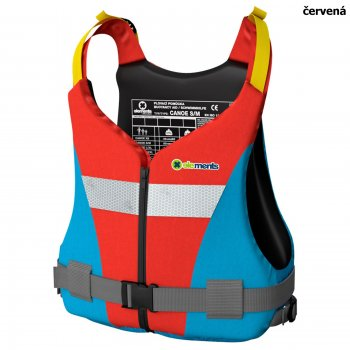 Plovací vesta ELEMENTS GEAR Canoe Plus červená - vel. S/M