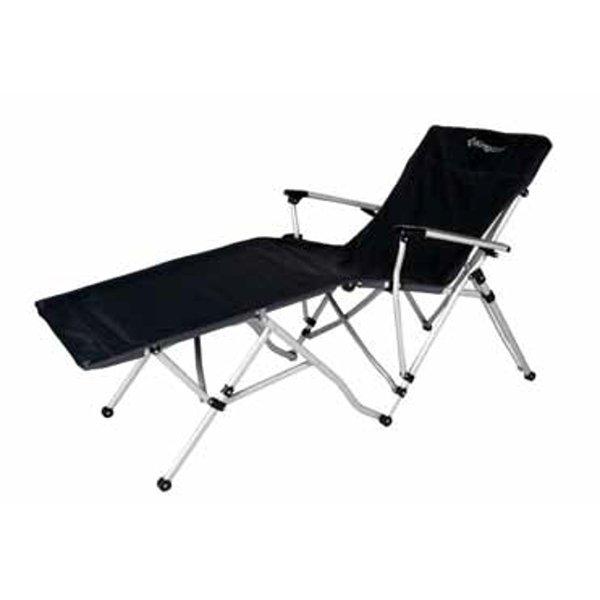 Camping skládací židle - lehátko s opěrkou nohou - 2. jakost ... f5e58ab67ce