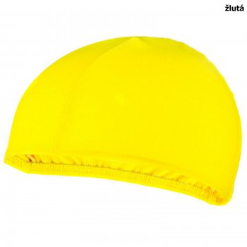 663e19e08e1 Plavecká čepice SPOKEY Lycras - žlutá