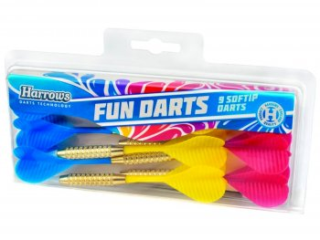 Šipky HARROWS Fun Darts Soft
