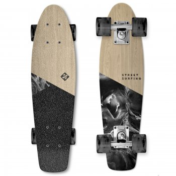 Skateboard STREET SURFING Beach Board Wood Dimension