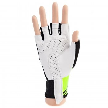 65fa42bf478 Cyklo rukavice CRUSSIS černo-žluté